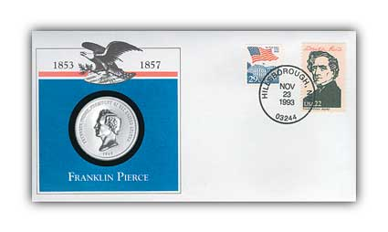 1993 Franklin Pierce Platinum Plated PNC