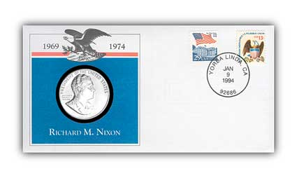 1993 Richard M. Nixon Platinum Plated PNC