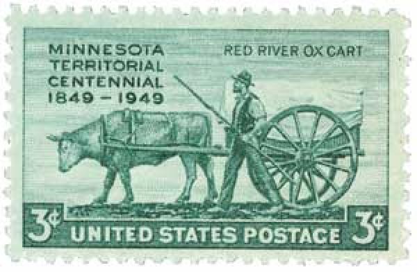 1949 3c Minnesota Territory