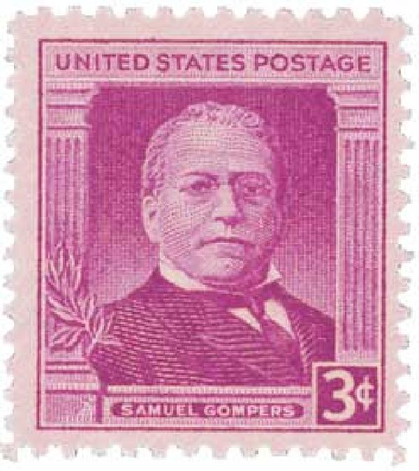 1950 3c Samuel Gompers