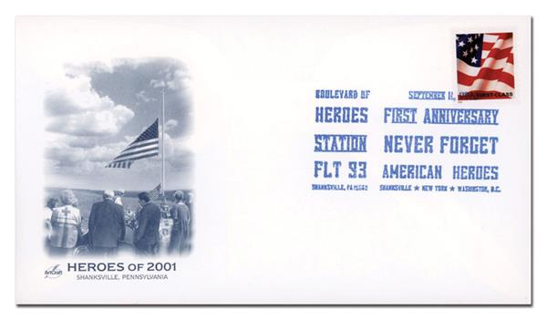 Art Craft Cover Honoring 1st Anniversary of 9/11