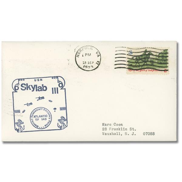 07/25/1973 USA, Skylab III Atlantic