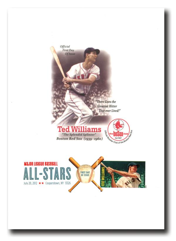 2012 Legends of Baseball - Ted Williams - 5x7 Proofcard
