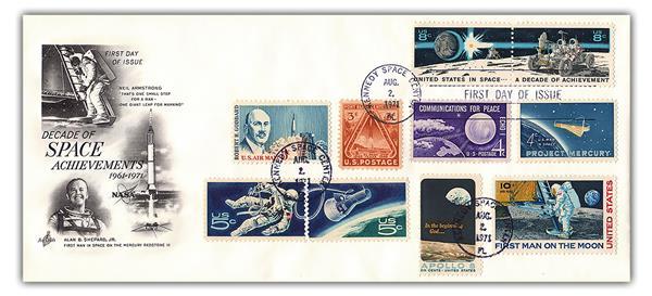 1971 8c Space Achievement Decade