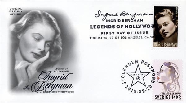 2005 Joint Issue - US and Sweden - Ingrid Bergman