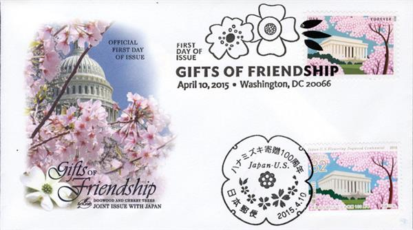 US-4982, Japan-3814c, Gifts of Friendship