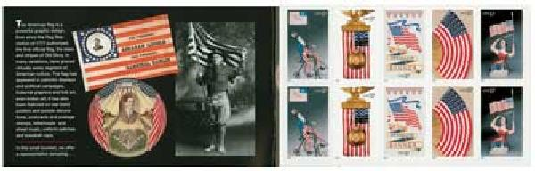 2003 37c Old Glory Booklet