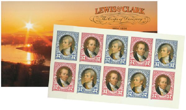 2004 37c Lewis & Clark Booklet