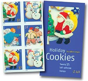 2005 37c Holiday Cookies Vend Bklt 20