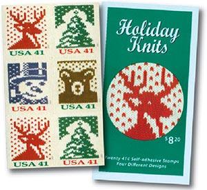2007 41c Holiday Knits, BP of 20