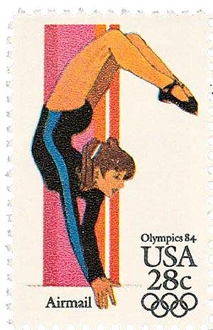 1983 28c Women's Gymnastics