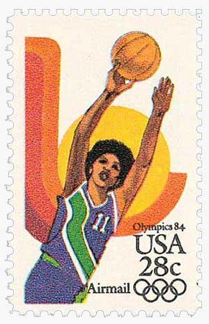 1983 28c Womens Basketball