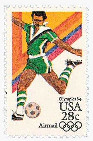 1983 28c Soccer