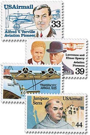 1985 Commemoratives 4 stamps