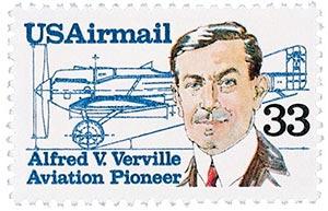 1985 33c Alfred V Verville