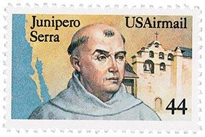 1985 44c Father Junipero Serra