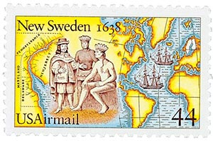 1988 Joint Issue w/Sweden Airmail