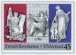 1989 45c French Revolution joint iss/Fr.