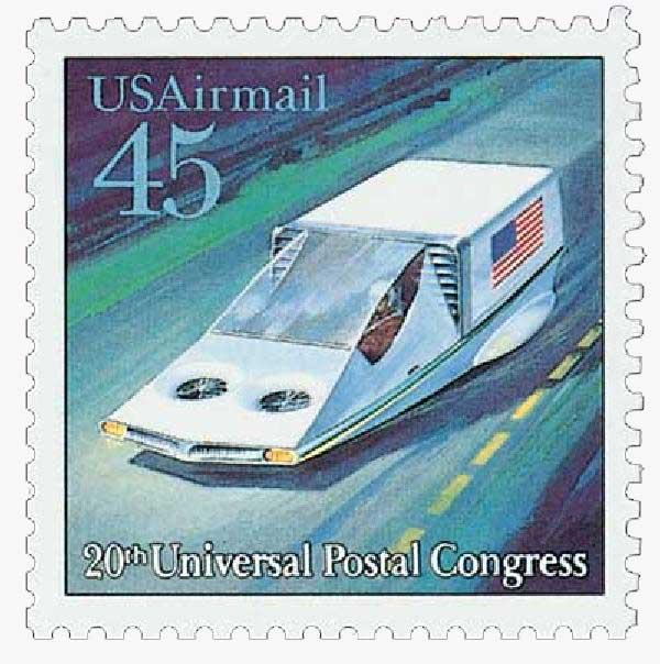 1989 45c Air-Cushion Vehicle