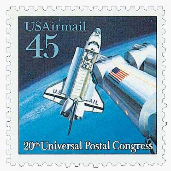 1989 45c Shuttle