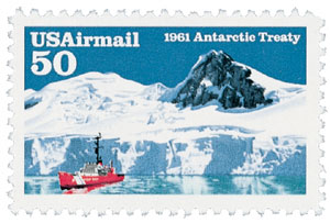 1991 50c Antarctic Treaty