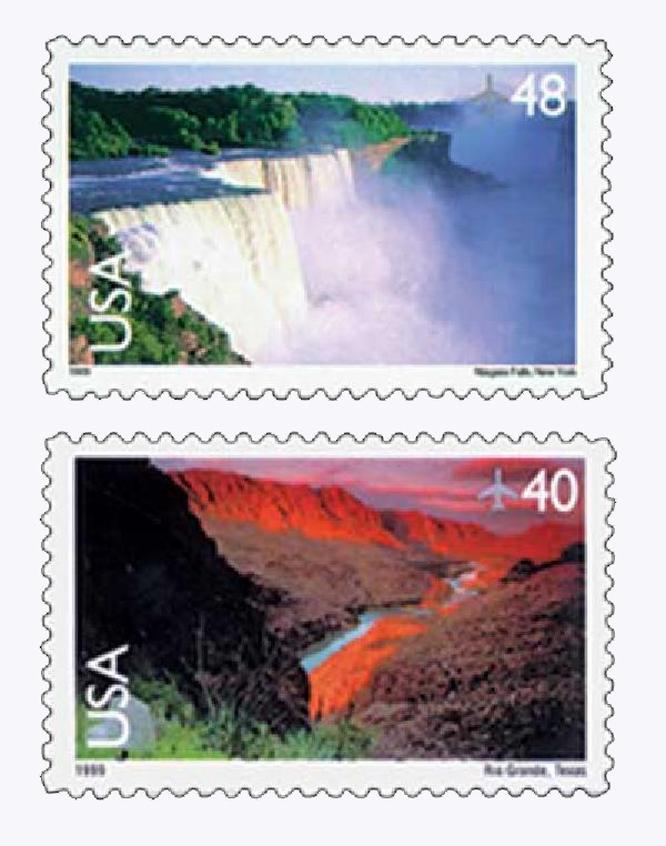1999 Airmails 2 stamps