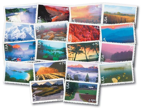 1999-2012 Scenic Landscapes Airmails