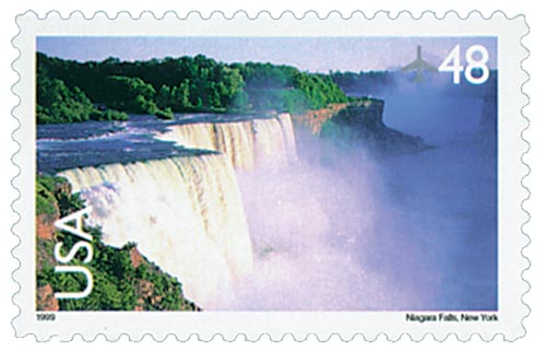 1999 48c Niagara Falls s/a