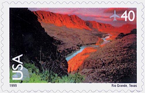 Rio Grande airmail stamp