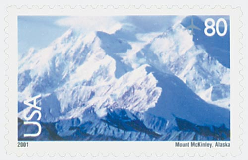 2001 80c Mt. McKinley