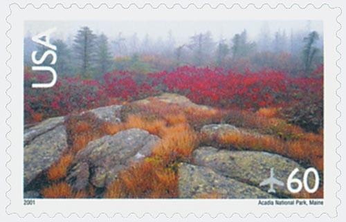 2001 60c Acadia National Park