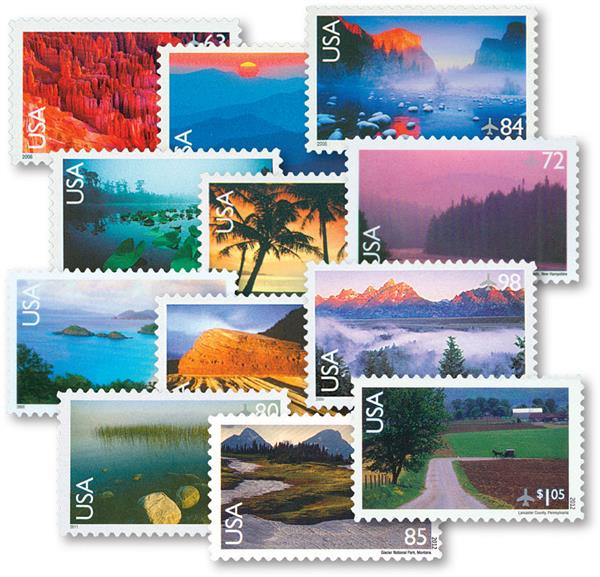 2006-12 Airmails, set of 12