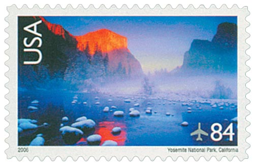 2006 Yosemite National Park stamp
