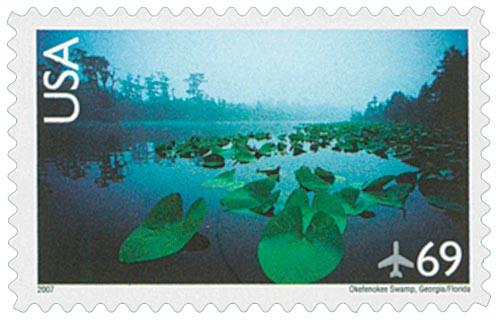 2007 69c Okefenokee Swamp