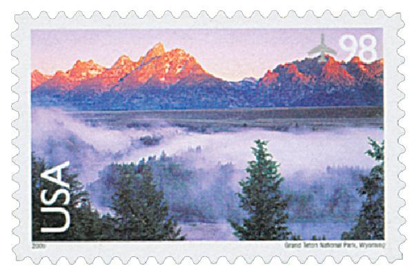 2009 98c Grand Teton National Park