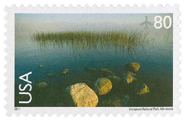 2011 80c Voyageurs National Park