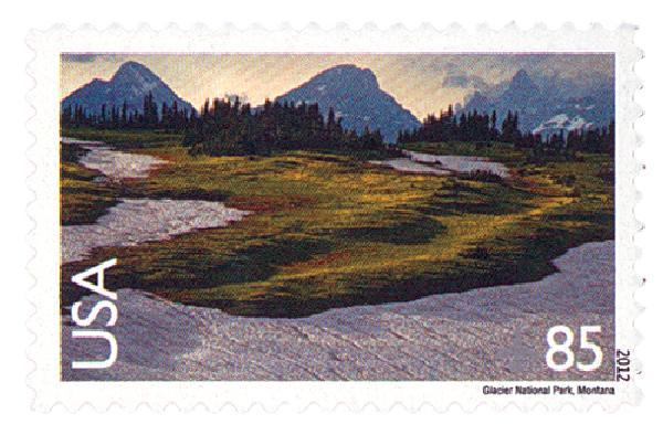 2012 85c Glacier National Park