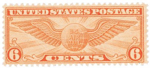 1934 6c Rotary Perf 10-1/2 x 11