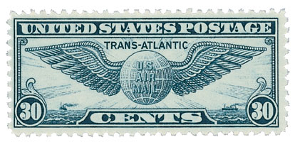 1939 30c Trans-Atlantic Issue