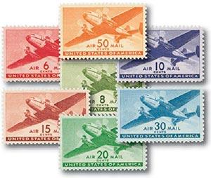 1941-44 6c-50c Rotary Press