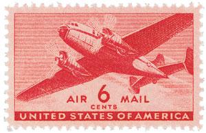 1941 6c Rotary Press