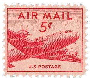 1946 5c DC-4 Skymaster