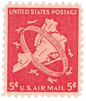 1948 NYC Jubilee stamp