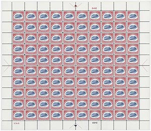 1918 24c Jenny Invert (C3a) Reproduction