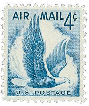 1954 4c Airmail Eagle