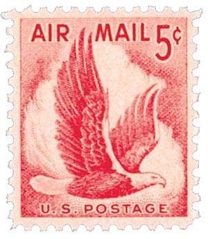 1958 5c Airmail Design of 1954