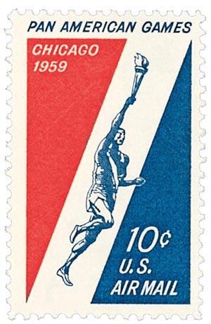 1959 10c Pan-American Games