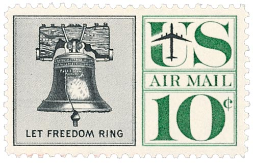 1960 10c Liberty Bell