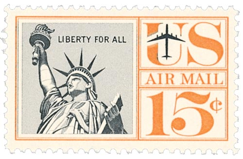 1959-61 15c Statue of Liberty
