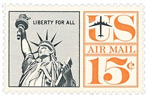 1961 15c Statue of Liberty